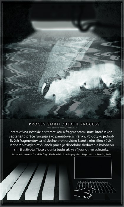 PROCES SMRTI / DEATH PROCESS- posster