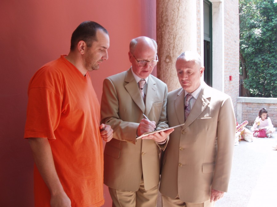 Michal Murin meets Gilbert and George