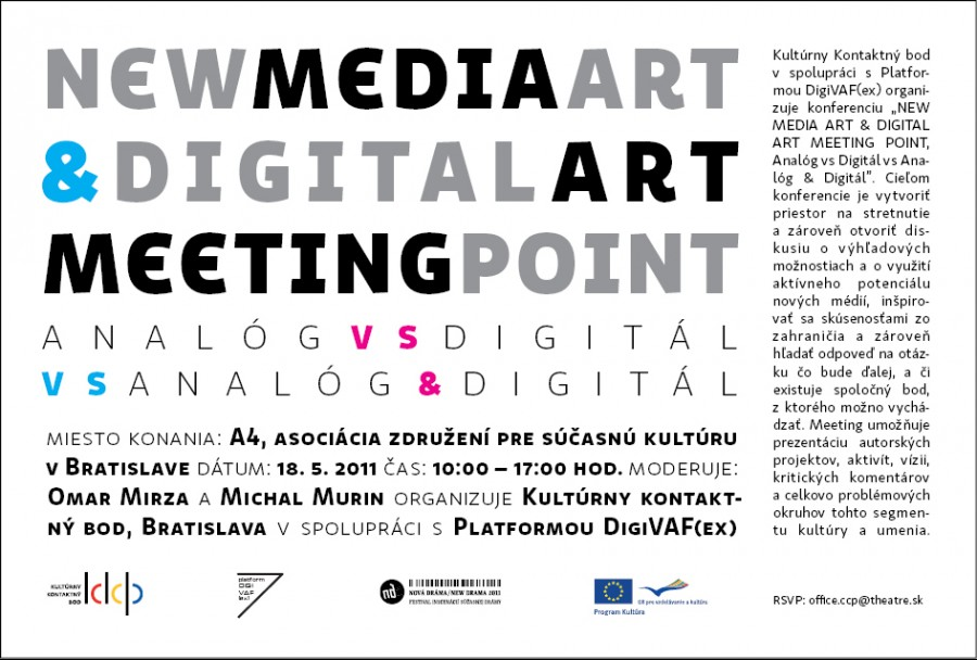 NEW MEDIA ART - MEETING POINT