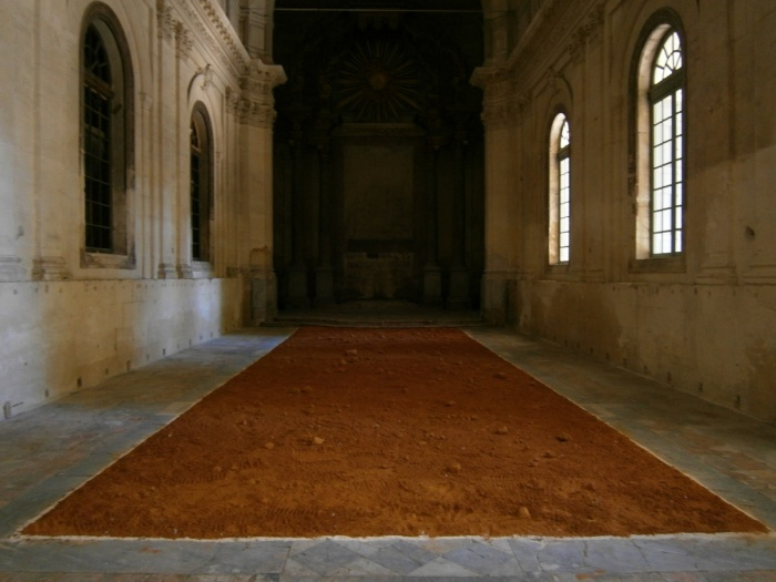 richard long - avignon (F)